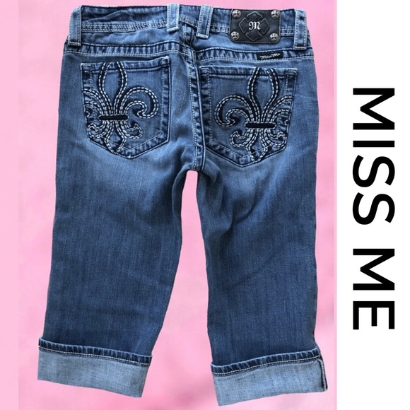 Miss Me Denim - MISS ME Cropped Jeans 29